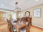Formal Dining Room Seats Twelve at 1 Twin Pines