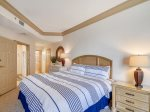 Master Bedroom with Private Balcony at 1103 SeaCrest
