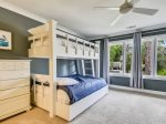Third Floor Guest Bedroom with Two Bunk Beds at 252 Stoney Creek