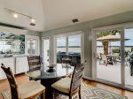 Enjoy Eating in the Carolina Room While Looking Out at the Calibogue Sound at 45 Lands End