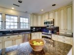 Kitchen with Stainless Steel Appliances at 45 Lands End