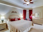 Guest Bedroom with King Bed at 2203 SeaCrest