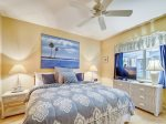 Guest Bedroom with King Bed at 409 Captains Walk