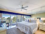 Master Bedroom with King Bed at 409 Captains Walk