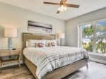 Master Bedroom with King Bed at 6305 Hampton Place