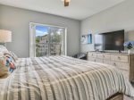 Master Bedroom with Ocean Views at 6305 Hampton Place