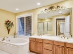 Master Bathroom with Double Vanity at 8133 Wendover Dunes