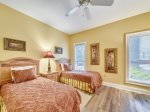 Guest Bedroom with Two Twin Beds at 8133 Wendover Dunes