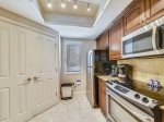 Kitchen with Stainless Steel Appliances at 205 Windsor Place