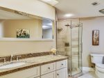 Guest Bathroom with Separate Shower and Tub at 205 Windsor Place
