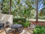Back Patio with BBQ Grill and Golf Course Views at 1304 Golfmaster