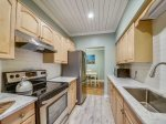 Updated Galley Style Kitchen at 1304 Golfmaster