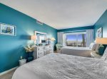Guest Bedroom with Private Balcony at 1841 Beachside Tennis