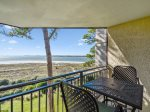 Private Balcony off Guest Bedroom at 1841 Beachside Tennis