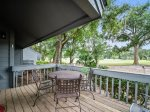 Back Deck with Golf Course Views at 231 Turnberry