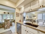 Galley Style Kitchen at 231 Turnberry