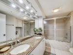 Master Bathroom with Shower/Tum Combo at 406 Barrington Arms