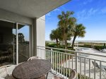 Guest Balcony with Access from Living Room and Master Bedroom at 3103 SeaCrest