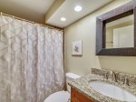 Guest Bathroom with Shower  Tub Combo at 510 Barrington Court