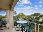 Balcony with Ocean Views at 4501 Windsor Court North