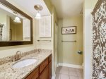 Private Master Bathroom with Shower/Tub Combo at 675 Queens Grant
