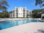 The oceanfront pool at the Barrington Complex in Palmetto Dunes is just steps from the beach