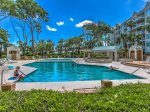 Windsor Place Spacious Complex Pool is located oceanfront
