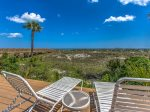 Sundeck at Windsor Place Complex in Palmetto Dunes overlooks the beach