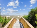 Private Walkway to Ocean at 10 East Wind