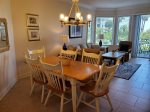 Dining Area with Seating for 6 at 1104 Sea Crest
