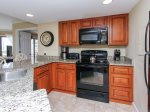 Kitchen includes the washer and dryer at 1301 Villamare