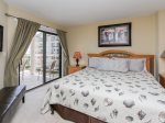 Master Bedroom with Balcony Access and Beautiful Ocean Views at 1301 Villamare