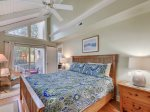 Master Bedroom with Deck Access at 13 Myrtle Lane