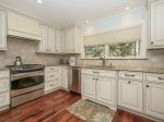 Updated Kitchen with Granite Countertops at 13 Wren
