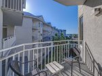 Private Balcony at 1401 Sea Crest