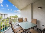 Spacious Main Balcony with 4th Floor Ocean Views at 1401 Sea Crest
