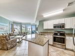 Kitchen with Breakfast Bar at 1401 Sea Crest