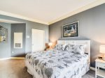 Master Bedroom with Ocean Views and Private Access to Balcony at 1401 Sea Crest