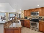 Kitchen with Stainless Steel Appliances at 1401 Villamare