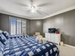 Guest Bedroom with Private Access to Shared Hall Bath at 1404 SeaCrest