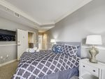 Master Bedroom with Private Balcony at 1404 Sea Crest