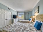 Guest Bedroom with Two Queen Beds at 1406 Sea Crest