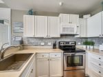 Updated Kitchen with Ocean Views at 1406 Sea Crest