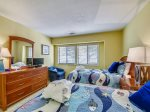 Guest Bedroom with Two Twins and Views of Calibogue Sound at 1414 South Beach Viilla
