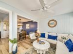 Sun Room is Bright and Open at 1414 South Beach Villa