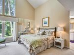 Master Bedroom with King Bed at 14 Green Heron