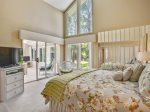 Master Bedroom with Private Bath at 14 Green Heron