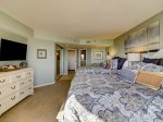 Guest Bedroom Also Offers Direct Ocean Views at 1501 Villamare