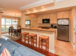 Kitchen with Granite Counters at 15 Lands End Road