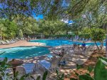 Guests staying at 1715 Bluff Vlla have access to the South Beach Community pool